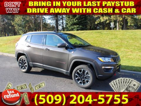 Pre-Owned 2019 Jeep Compass Trailhawk 2.4L 4x4 SUV