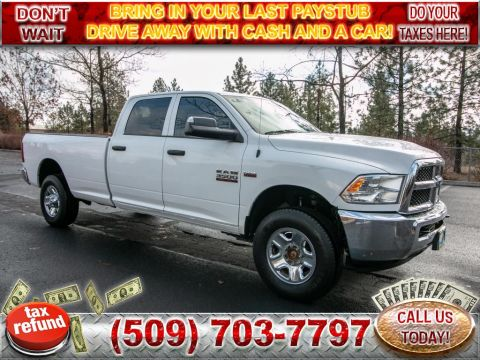 Pre-Owned 2015 Dodge Ram Pickup 3500 Tradesman 6.4L V8 4x4 Long Bed Truck