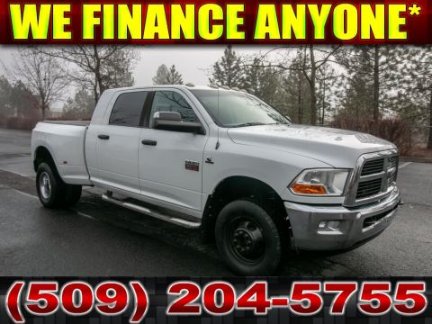 Pre-Owned 2011 Dodge Ram Pickup 3500 SLT 6.7L Dually 4x4 Diesel Truck