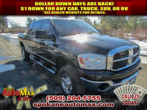 Pre-Owned 2008 Dodge Ram Pickup 1500 SLT 5.7L V8 4x4 Truck