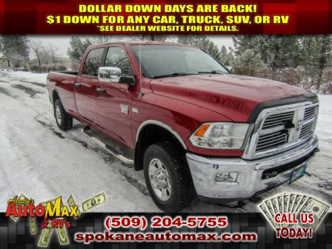 Pre-Owned 2011 Dodge Ram Pickup 2500 SLT 5.7L V8 4x4 Truck