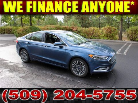 Pre-Owned 2018 Ford Fusion Titanium 2.0L All Wheel Drive Sedan