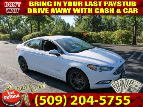 Pre-Owned 2018 Ford Fusion SE SPORT PACKAGE PREFECT 1ST TIME BUYER