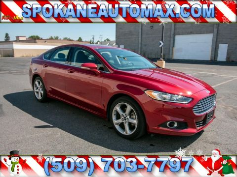 Pre-Owned 2016 Ford Fusion SE 4x4 EcoBoost 2.0L All Wheel Drive Sedan
