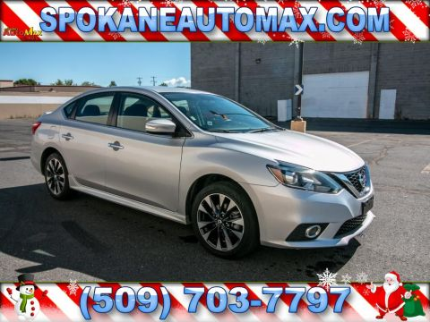 Pre-Owned 2016 Nissan Sentra S Front Wheel Drive 1.8L