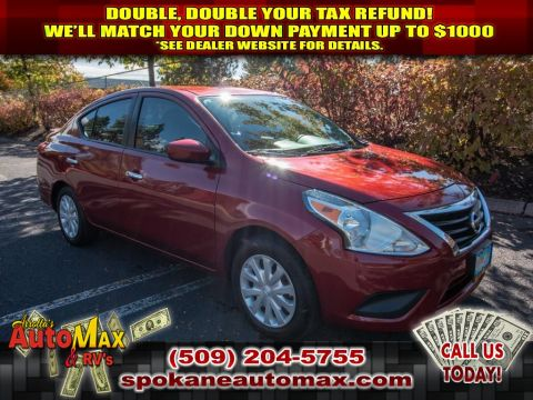 Pre-Owned 2017 Nissan Versa S 1.6L Front Wheel Drive