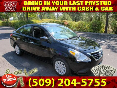 Pre-Owned 2018 Nissan Versa SV PREFECT 1ST TIME BUYER CAR