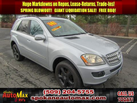 Pre-Owned 2008 Mercedes-Benz M-Class 3.5L V6 All Wheel Drive SUV