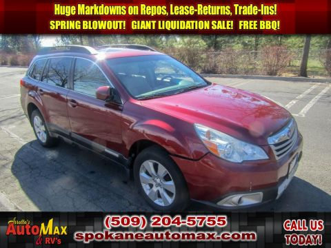 Pre-Owned 2011 Subaru Outback 2.5i Limited Pwr Moon AWD Wagon