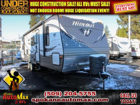 Pre-Owned 2016 KEYSTONE HIDEOUT 26BHS Bunkhouse Sleeps 10 Travel Trailer