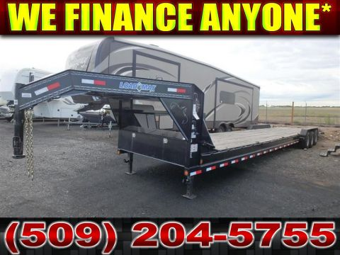 Pre-Owned 2016 LOAD TRAIL GOOSENECK LoadMax 5th Wheel Cargo Trailer