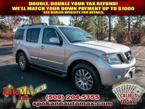 Pre-Owned 2010 Nissan Pathfinder LE 4.0L V6 4x4 SUV