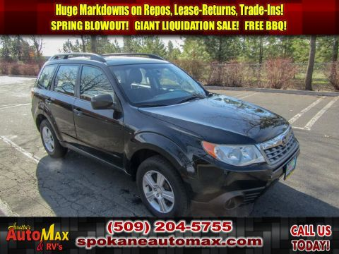 Pre-Owned 2012 Subaru Forester 2.5X All Wheel Drive SUV