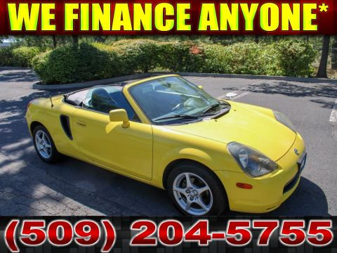 Pre-Owned 2000 Toyota MR2 Spyder ZZT230L 1.8L Convertible Manual