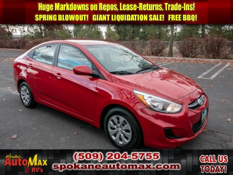 Pre-Owned 2017 Hyundai Accent SE 1.6L Front Wheel Drive Sedan