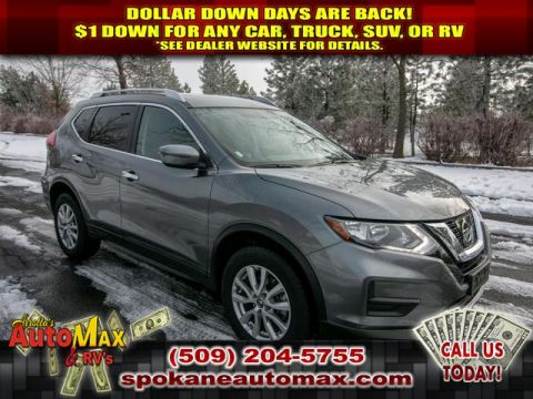 Pre-Owned 2017 Nissan Rogue SV 2.5L All Wheel Drive SUV 3RD ROW